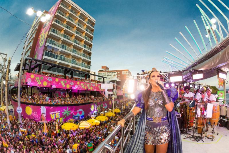 Ivete Sangalo abre seu Carnaval em Salvador - 2020