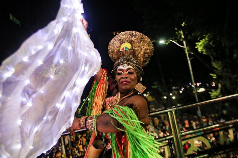 Olodum é um dos principais destaque do Carnaval de Salvador
