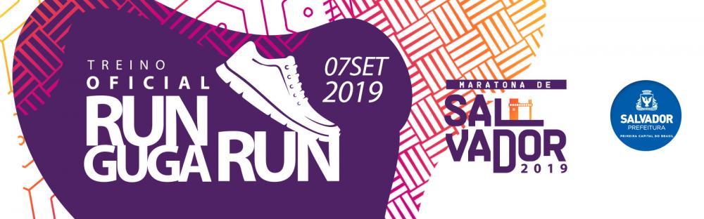 3º Run Guga Run reunirá 1.200 atletas para treino oficial da Maratona Salvador