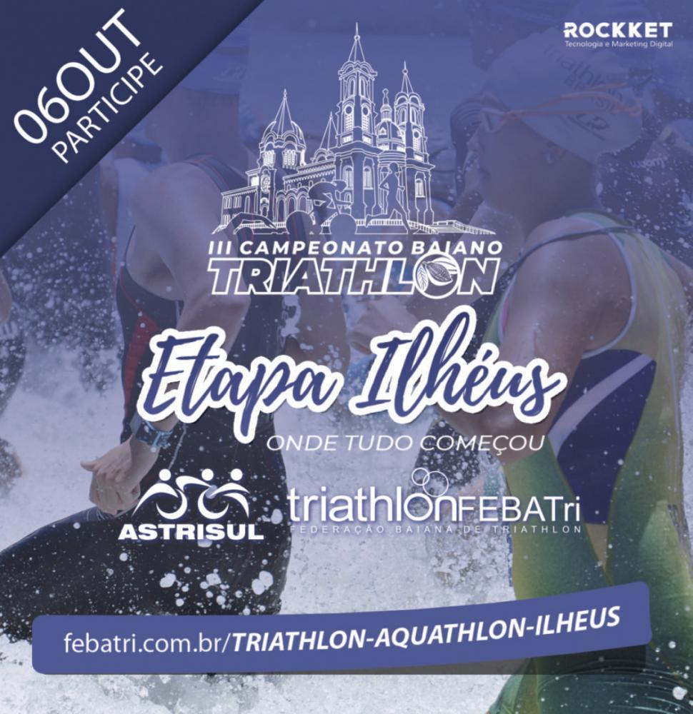 Nesse final de semana tem triathlon em Ilhéus!
