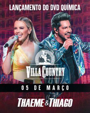 Thaeme E Thiago Lancam Dvd No Palco Do Villa Country Salvador Show