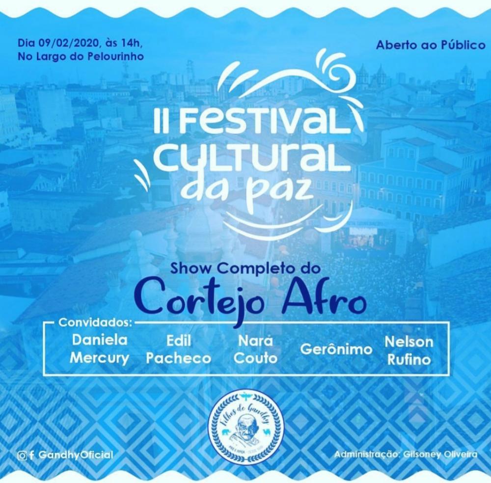 FESTIVAL CULTURAL DA PAZ 2020