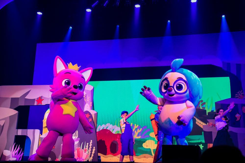 Show Oficial Pinkfong BABY SHARK LIVE MUSICAL pela primeira vez em Salvador