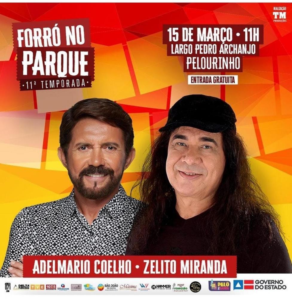 Zelito Miranda e Adelmário Coelho dão largada para o São João em Salvador
