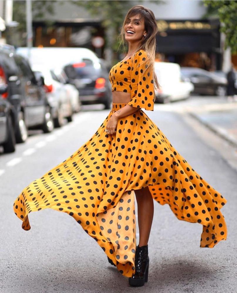 Carol Peixinho protagoniza campanha de moda
