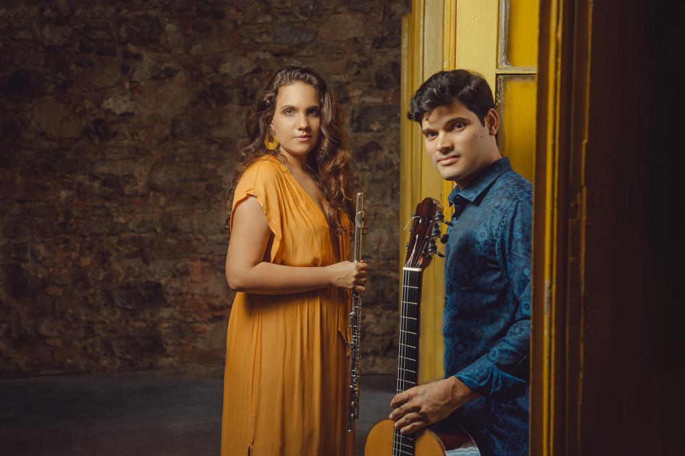 Morgana Moreno & Marcelo Rosário lançam álbum com show na Sala do Coro