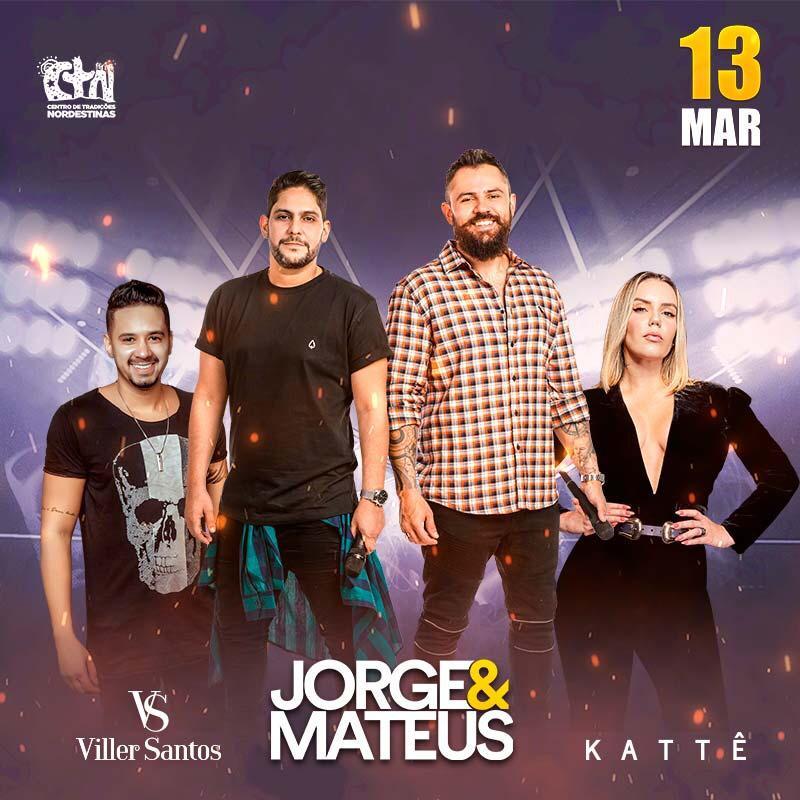 Kattê confirma show ao lado da dupla Jorge & Mateus em São Paulo