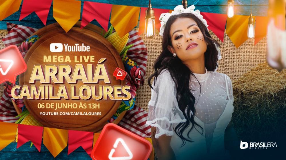 Mega live Arraiá Camila Loures