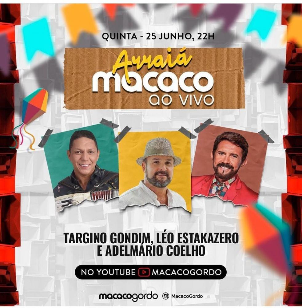 Targino Gondim canta os grandes sucessos de Luiz Gonzaga