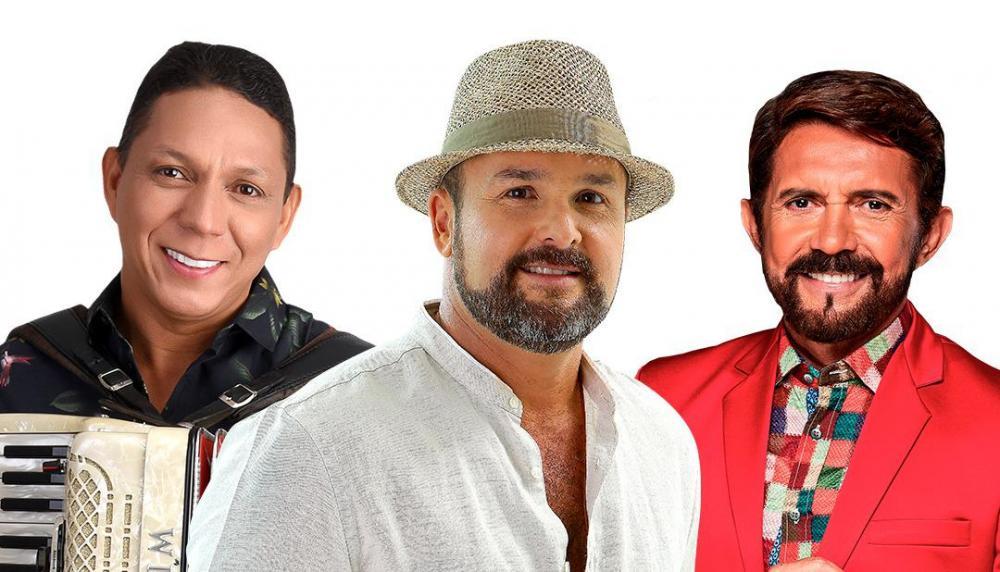 Adelmário Coelho, Targino Gondin e Estakazero realizam live especial de São João