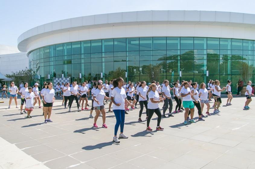 No próximo dia 29 de junho, o Shopping Parque das Bandeiras promoverá o evento de saúde e bem-estar Club Fitness