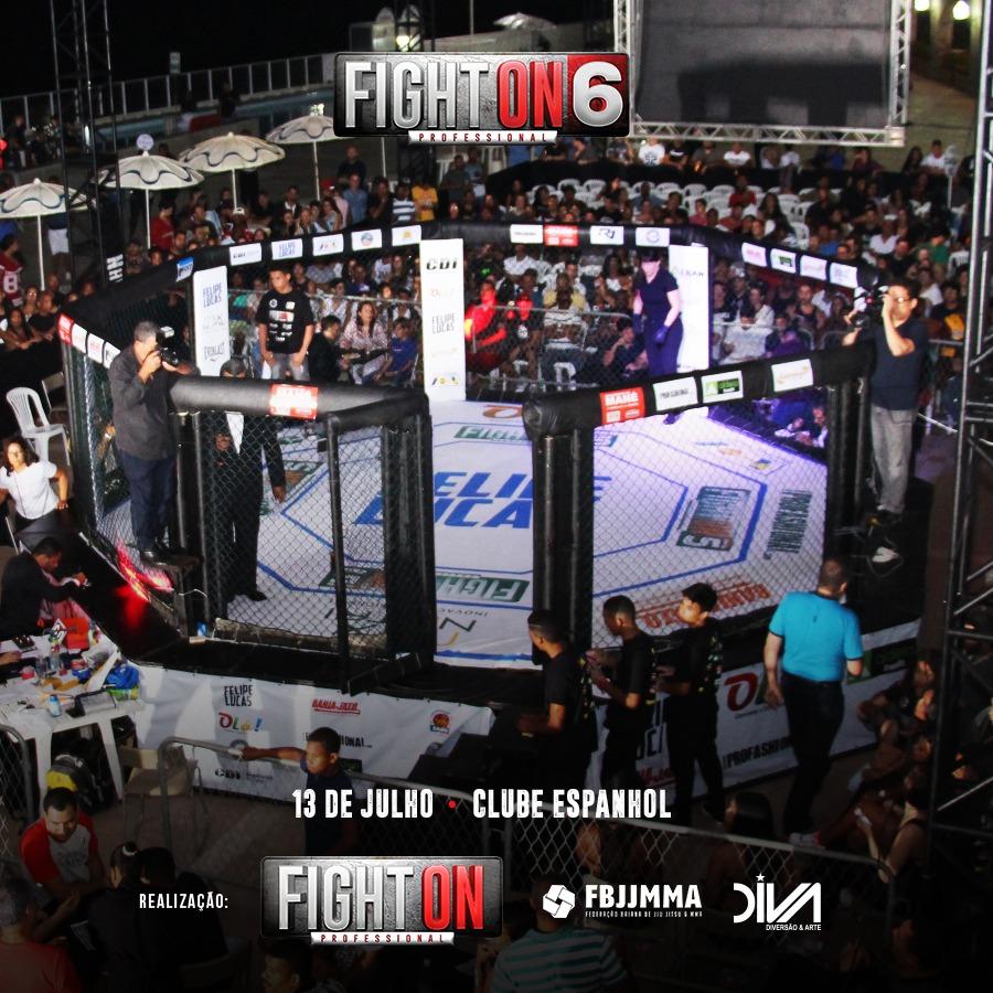 Salvador recebe mais uma edição do Fight On 6 Professional
