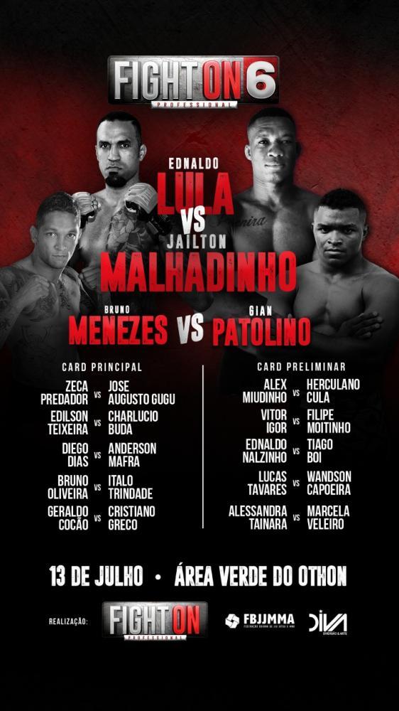 Competição em Salvador destaca rivalidade e técnica do MMA