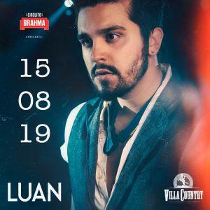 Villa Country recebe esquenta do novo DVD de Luan Santana